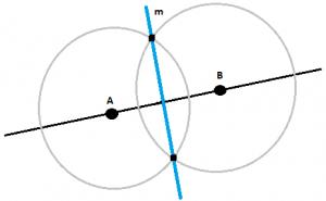 Mediatriz - ejemplo 1