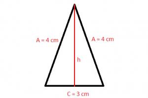 Triangulo isósceles