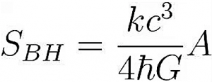 Hawking radiation formula