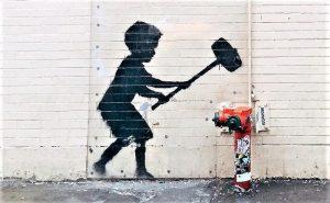 Banksy Quién es, biografía, características, obras, curiosidades, técnica