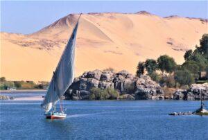 Río Nilo Qué es, características, recorrido, afluentes, nacimiento, fauna