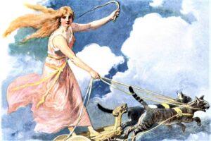 Freyja | Quién fue, características, historia, de qué era diosa, poder, funciones