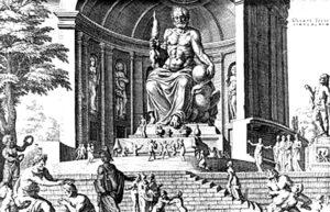 Estatua de Zeus en Olimpia | Qué es, características, historia, ubicación, destrucción