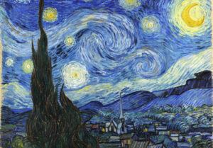 La noche estrellada | Qué es, autor, análisis, características, técnica, colores
