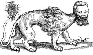 Mantícora   Qué es, características, origen, mito, simbología, representación