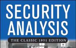 Security Analysis | De qué trata, autor, características, resumen, recepción