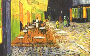 Terraza de café por la noche | Qué es, autor, análisis, características, técnica, colores